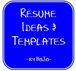 Resume Templates & Samples Resume and Job Search